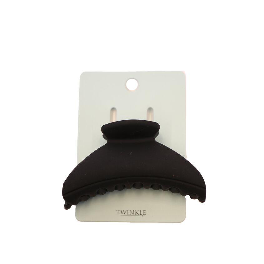 TWINKLE Заколка для волос Black Crab