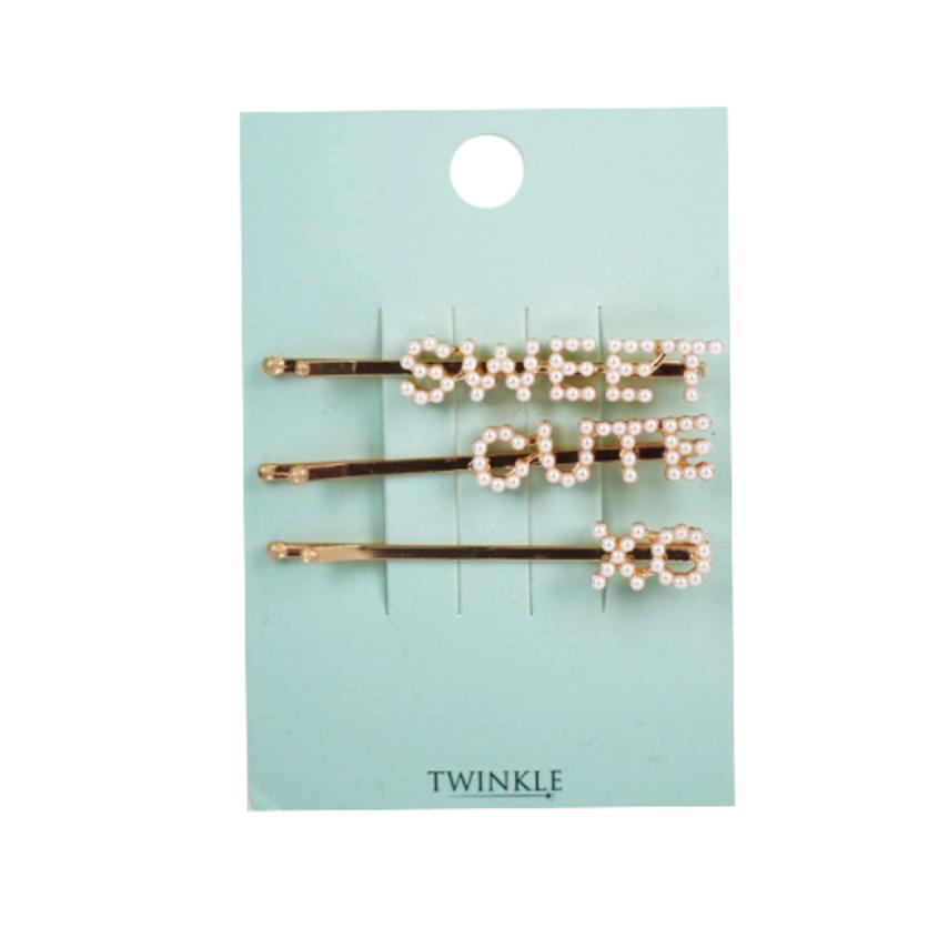 TWINKLE Набор заколок для волос Sweet Cute Xo