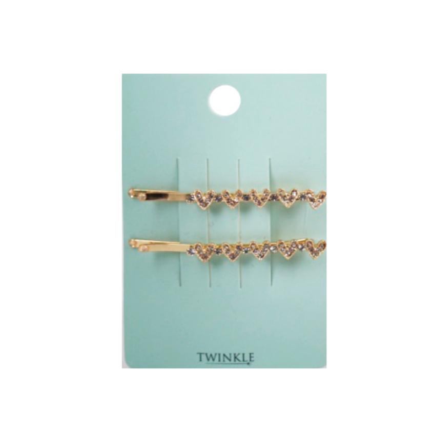 TWINKLE Заколки для волос Hearts