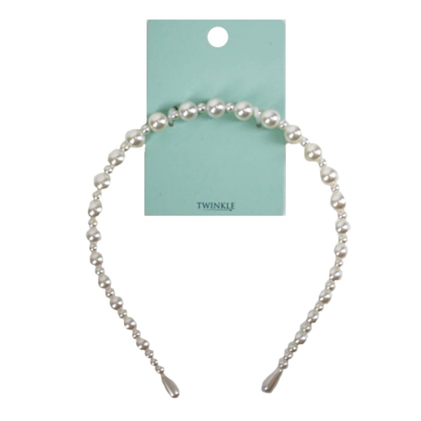 TWINKLE Ободок для волос Pearl