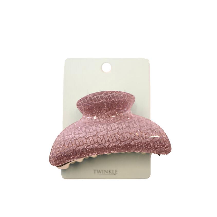 TWINKLE Заколка для волос Crab Pink Mid