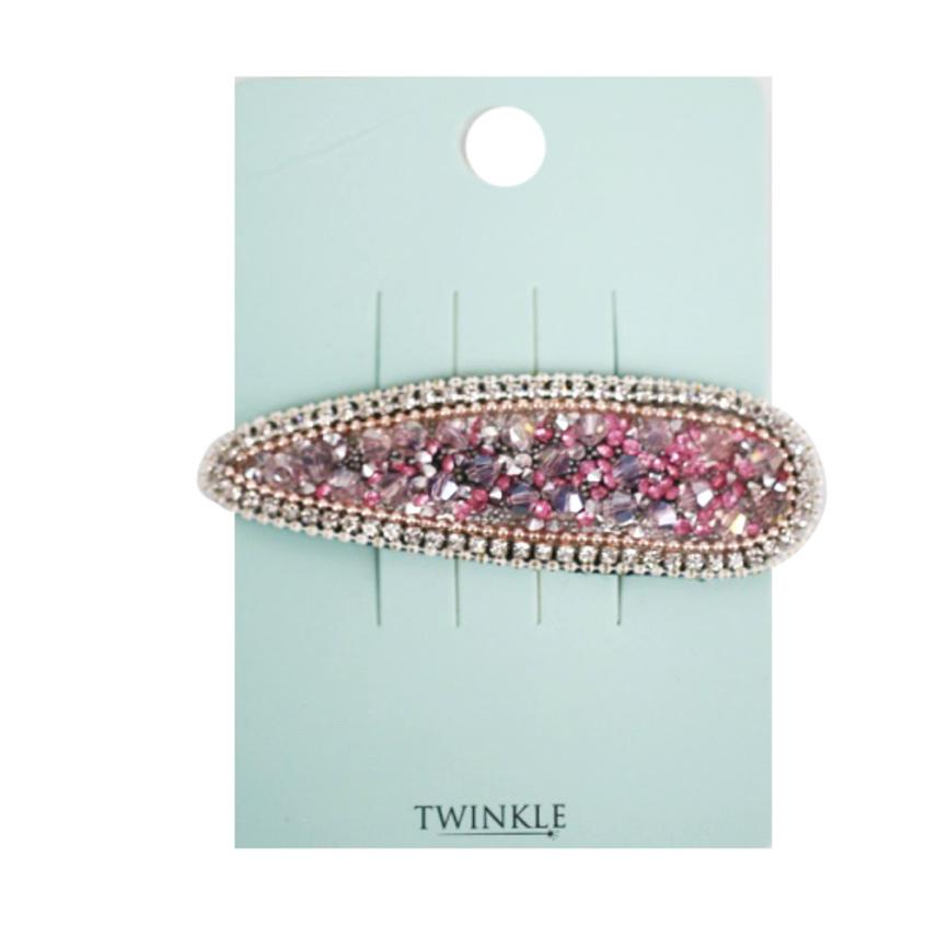TWINKLE Заколка для волос GrayPink