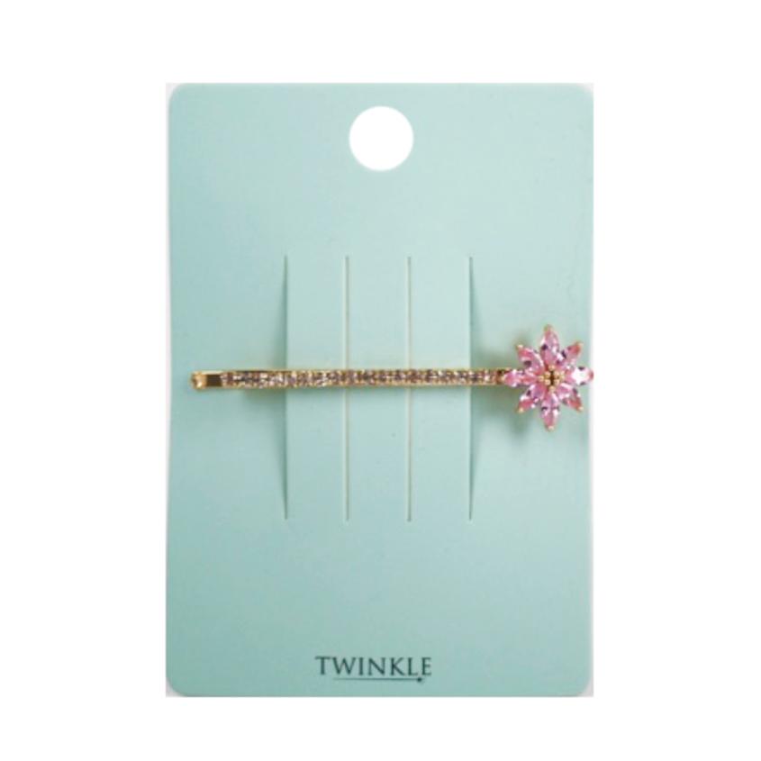 TWINKLE Заколка для волос Pink Flower