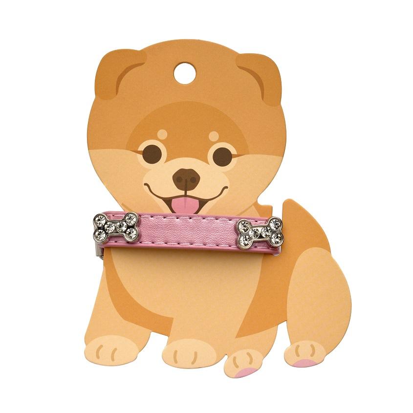 FRIEND OF MINE Ошейник для собак PINK CRYSTAL BELT #FOM_imabarbygirl