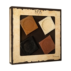 ЛЭТУАЛЬ Набор SPA A LA CARTE COFFRET 23 (Мыло кастильское) 4x90 г. (ЛЭтуаль selection)