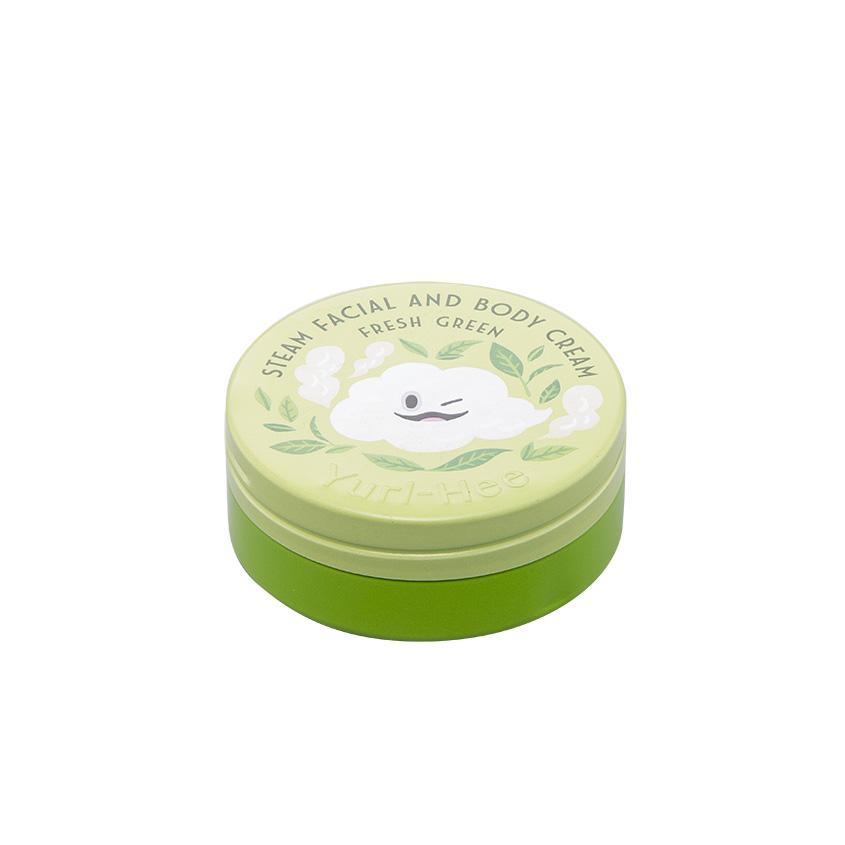YURL-HEE Увлажняющий стим крем для лица и тела c ароматом зеленого чая фото