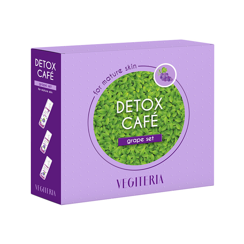 VEGITERIA Набор Vegiteria detox café Grape