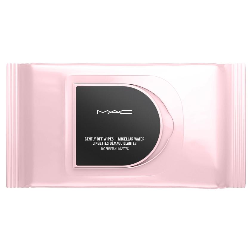 MAC Салфетки для снятия макияжа Gently off Wipes + Micellar Water