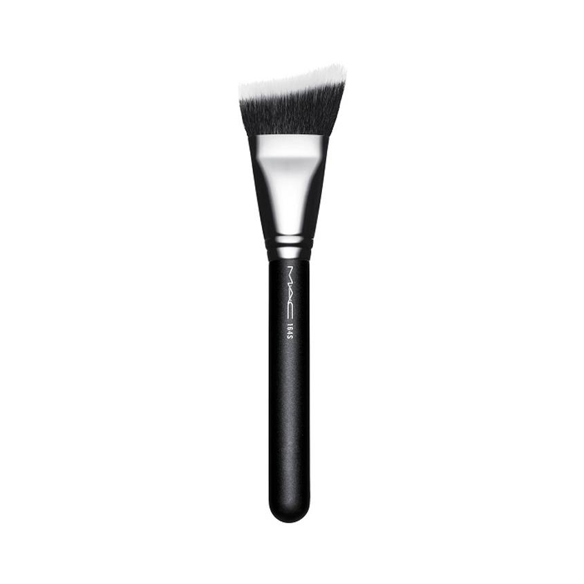 Купить MAC Кисть косметическая 164S Duo Fibre Curved Sculpting