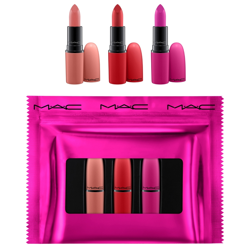 MAC Набор для губ Shiny Pretty Things Lip Trio Kit