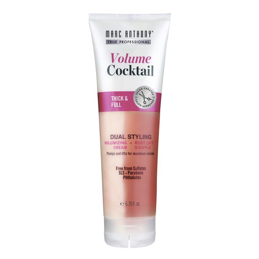 MARC ANTHONY Коктейль для укладки волос уплотняющий и придающий объем 2в1