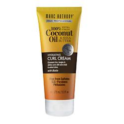 MARC ANTHONY Крем для укладки увлажнения и блеска волос HYDRATING COCONUT OIL 175 мл