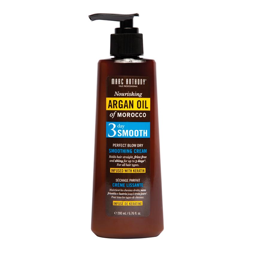 MARC ANTHONY Разглаживающий крем для укладки волос «Эффект 3-х дней» Oil of Morocco
