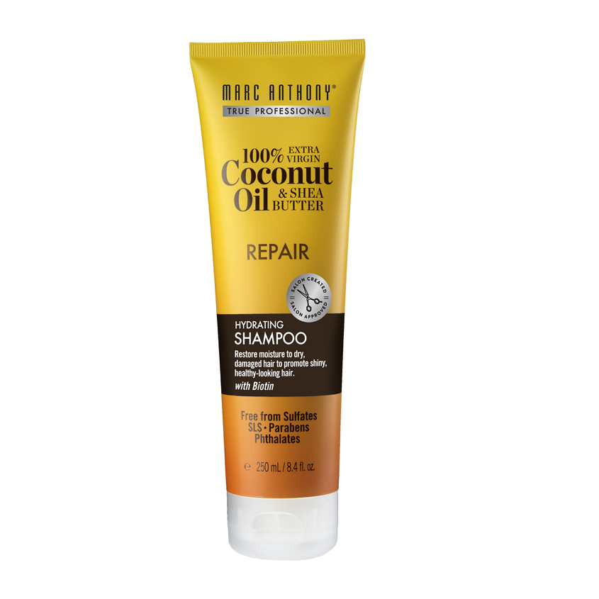 Купить MARC ANTHONY Увлажняющий и восстанавливающий шампунь для роста волос шампунь с маслом кокоса и дерева ши
