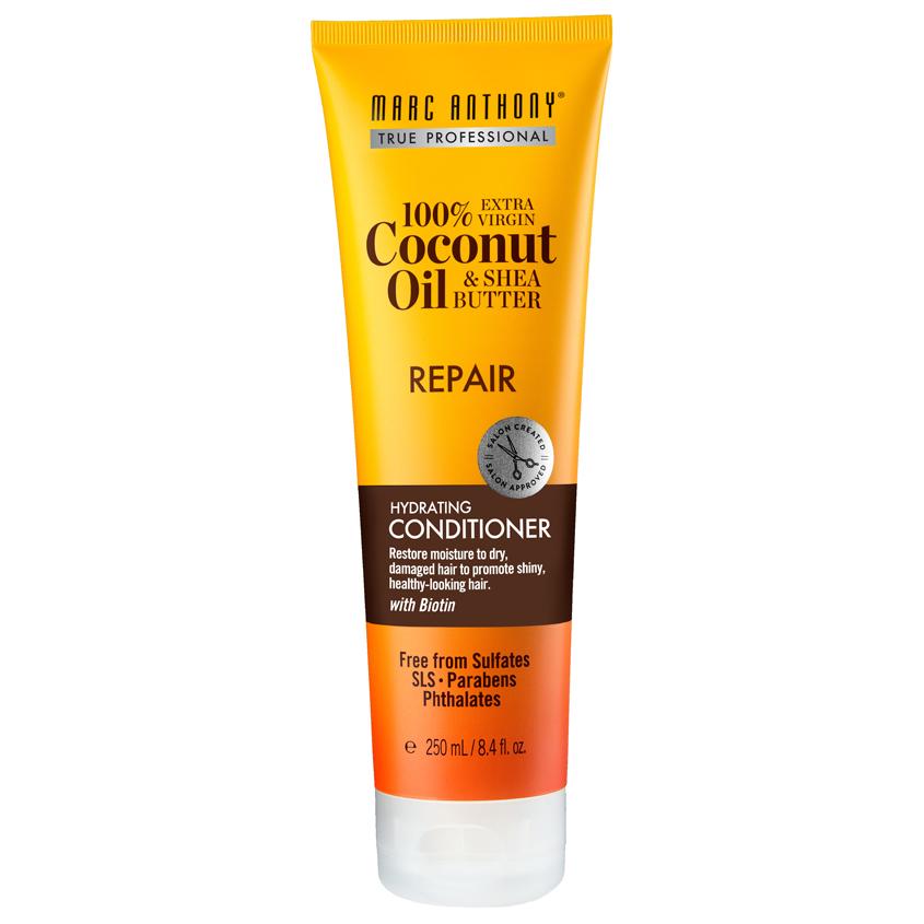 Купить MARC ANTHONY Увлажняющий и восстанавливающий кондиционер для роста волос шампунь с маслом кокоса и дерева ши