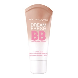 MAYBELLINE Крем-уход Dream Fresh BB Натурально-бежевый