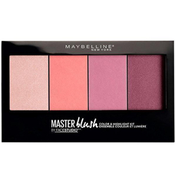 MAYBELLINE Палетка румян Мастер Блаш 13 г тени maybelline палетка теней 01 blushed nudes maybelline
