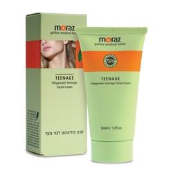 MORAZ Крем для подростковой кожи на основе экстракта горца MDCN (лечебная линия) 50 мл