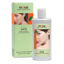 MORAZ Шампунь по уходу за нормальными и жирными волосами на основе травяных экстрактов 250 мл