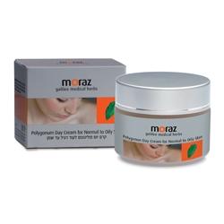 MORAZ Крем для лица дневной увлажняющий для нормальной и жирной кожи на основе экстракта горца BEAUTE 50 мл