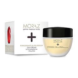 MORAZ Крем для лица дневной для сухой и комбинированной кожи на экстрактах граната и горца PREMIUM BEAUTY MORAZ+ (премиальный уход) 50 мл