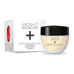 MORAZ Крем для лица дневной для нормальной и склонной к жирности кожи на эктрактах граната и горца PREMIUM BEAUTY MORAZ+ (премиальный уход) 50 мл
