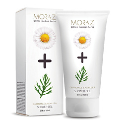 MORAZ Гель для тела очищающий на экстрактах граната и горца PREMIUM BEAUTY MORAZ+ (премиальный уход) 150 мл
