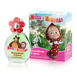 Купить со скидкой Маша и Медведь Детская душистая вода Волшебная Страна 35 мл
