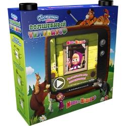 Маша и Медведь Подарочный набор Волшебный телевизор 240 мл + 190 мл
