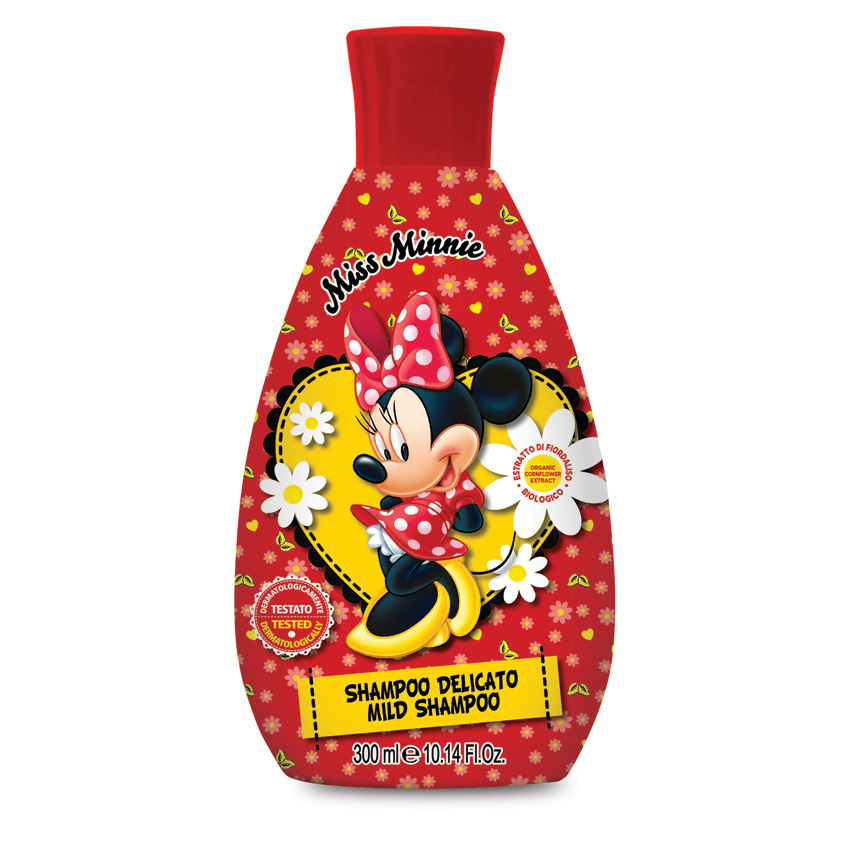 MISS MINNIE Мягкий шампунь для волос детский Мисс Минни