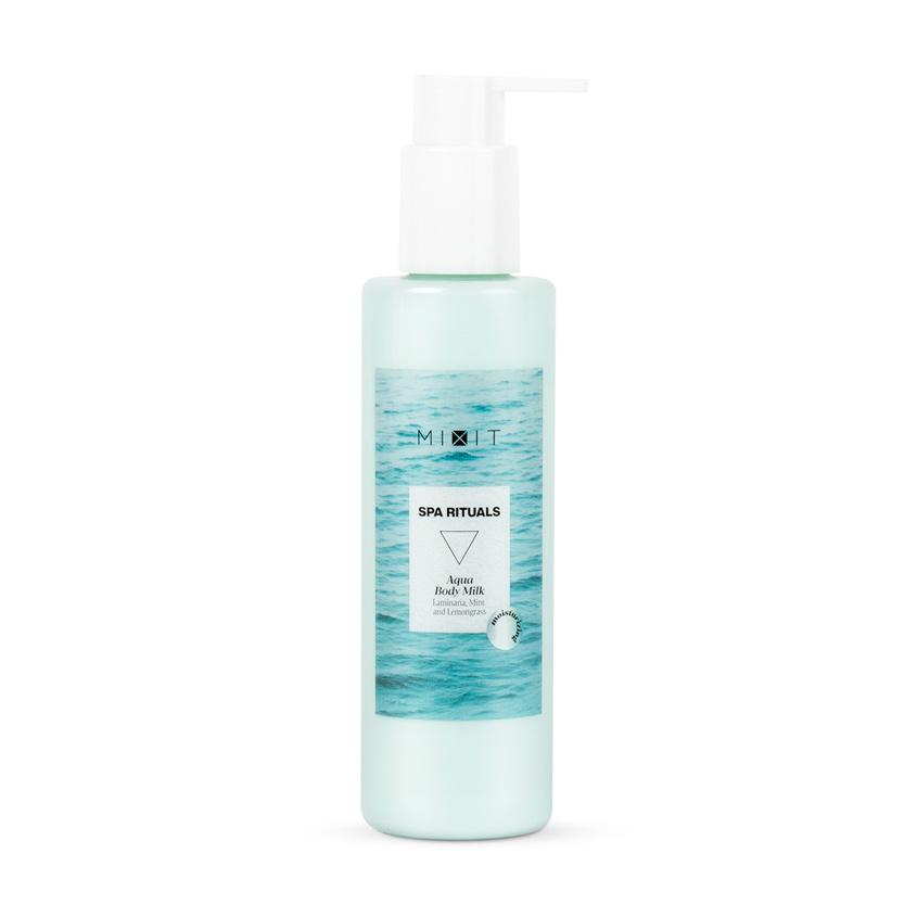 MIXIT Увлажняющее молочко для тела с экстрактами ламинарии и мяты SPA RITUALS Aqua Body Milk