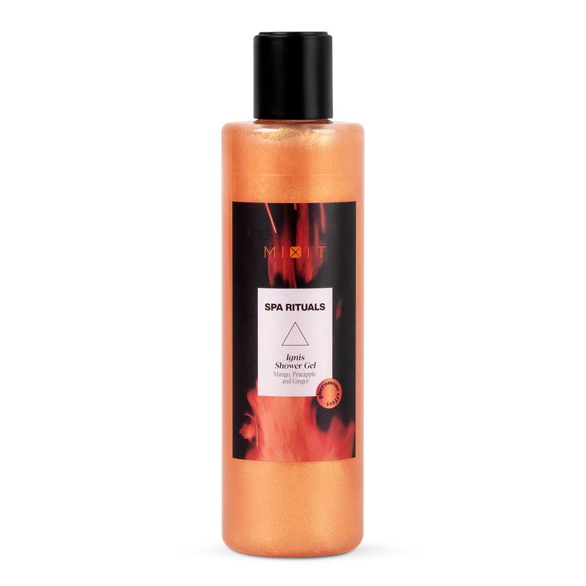 MIXIT Обновляющий гель для душа экстрактами манго ананаса и имбиря SPA RITUALS Ignis Shower Gel