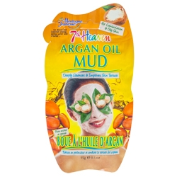 MONTAGNE JEUNESSE Маска для лица грязевая с аргановым маслом Глубокое очищение 15 мл