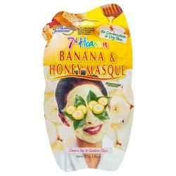 MONTAGNE JEUNESSE Маска для лица очищающая и успокаивающая Банан и Мед 10 мл