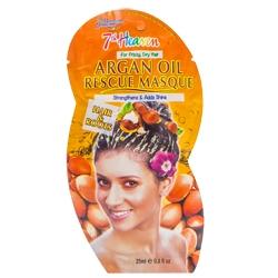 Купить со скидкой MONTAGNE JEUNESSE Маска для вьющихся и сухих волос с аргановым маслом 25 мл