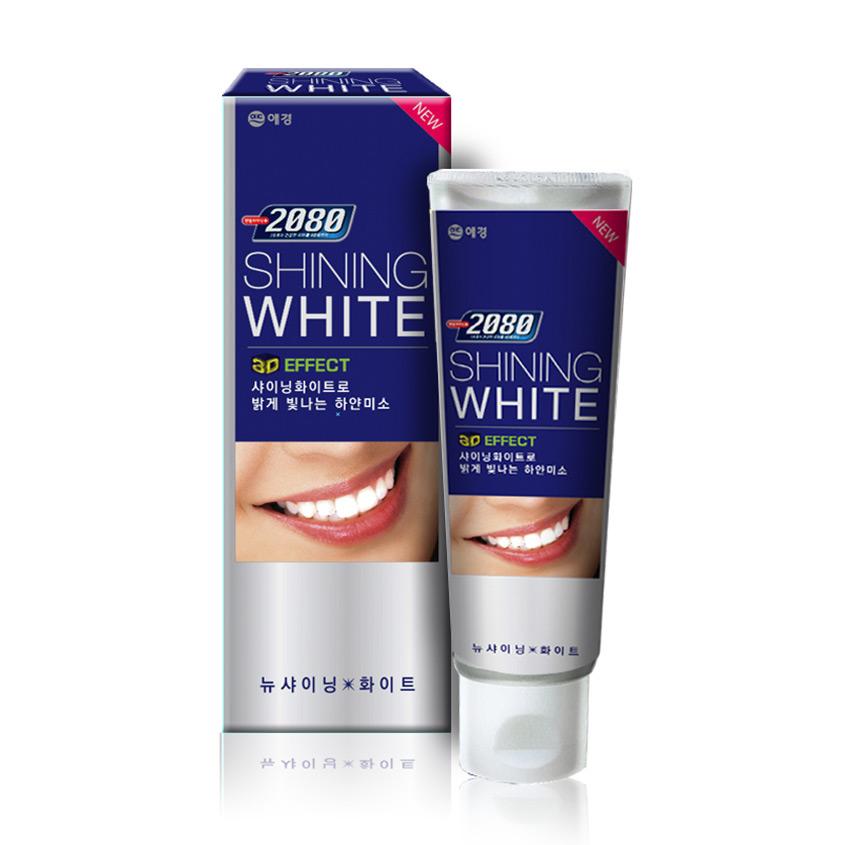 2080 Паста зубная 2080 сияющая белизна