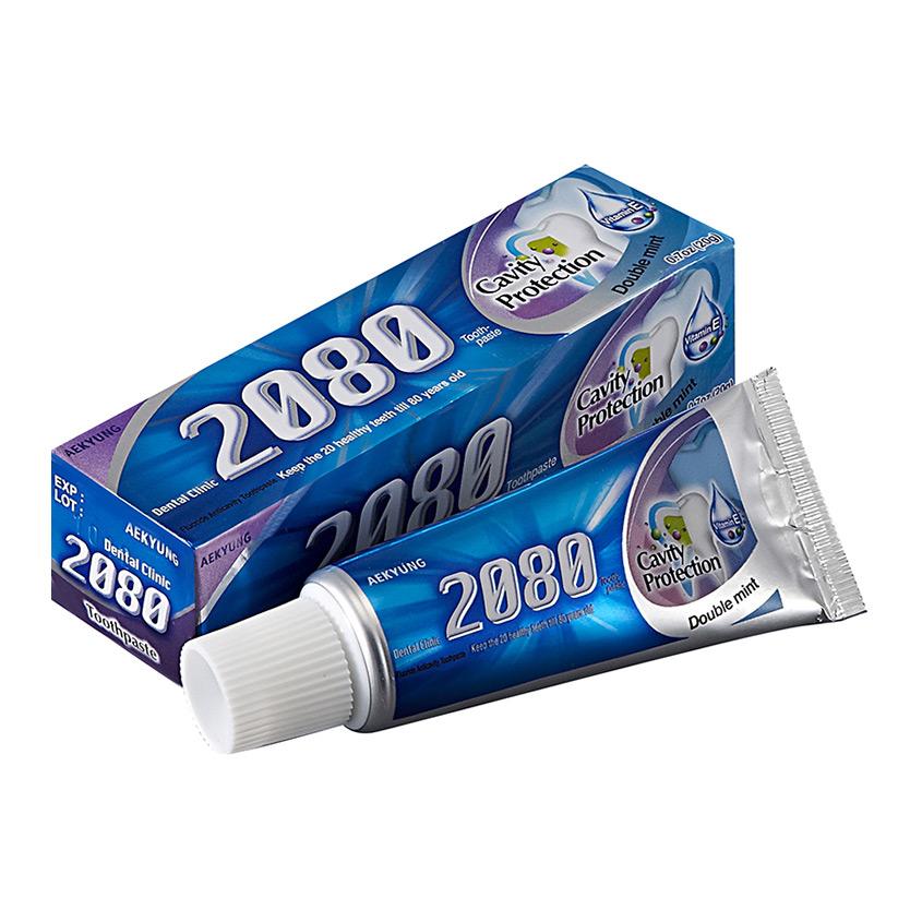 2080 Паста зубная DENTAL CLINIC натуральная мята