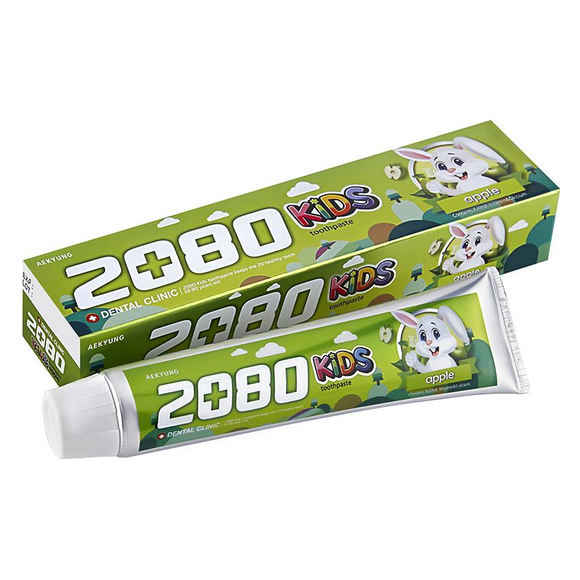 2080 Паста зубная детская KIDS яблоко