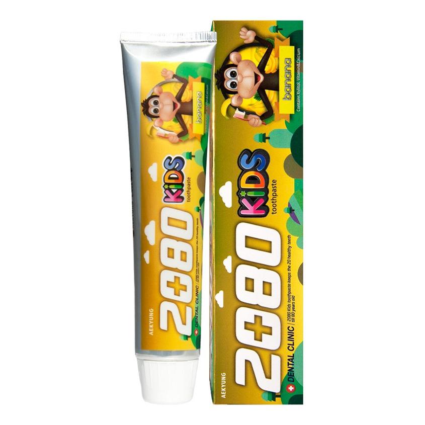 2080 Паста зубная детская KIDS банан