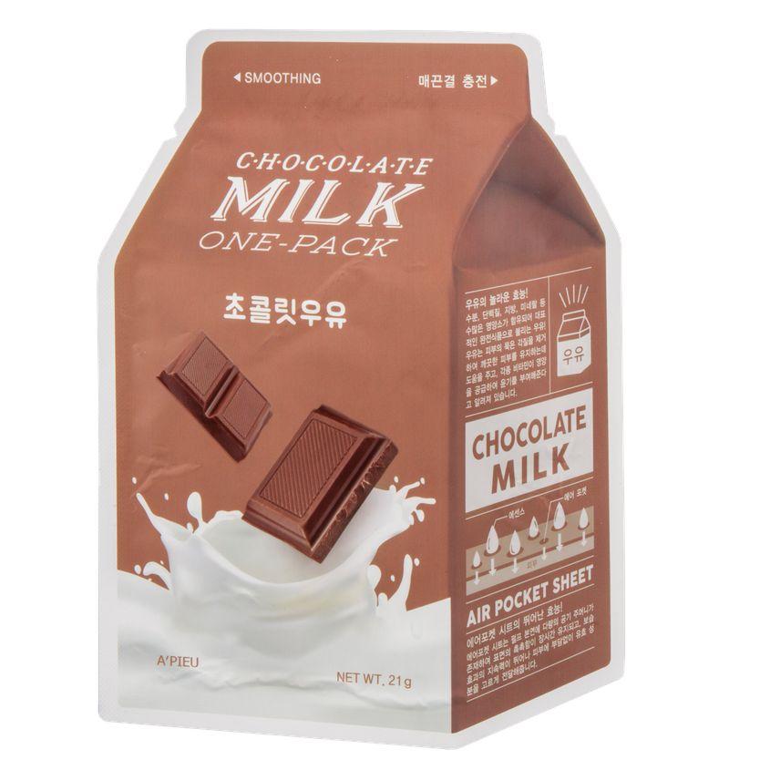 Купить A'PIEU Маска для лица A'PIEU шоколад (с молочными протеинами)