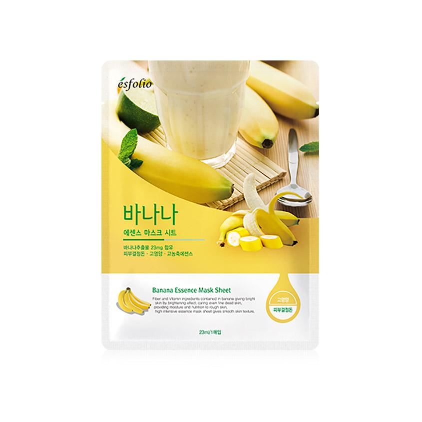 ESFOLIO Маска для лица ESFOLIO банановая