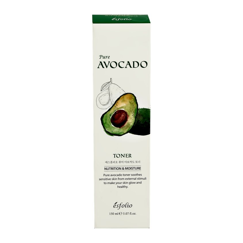 ESFOLIO Тонер для лица PURE AVOCADO