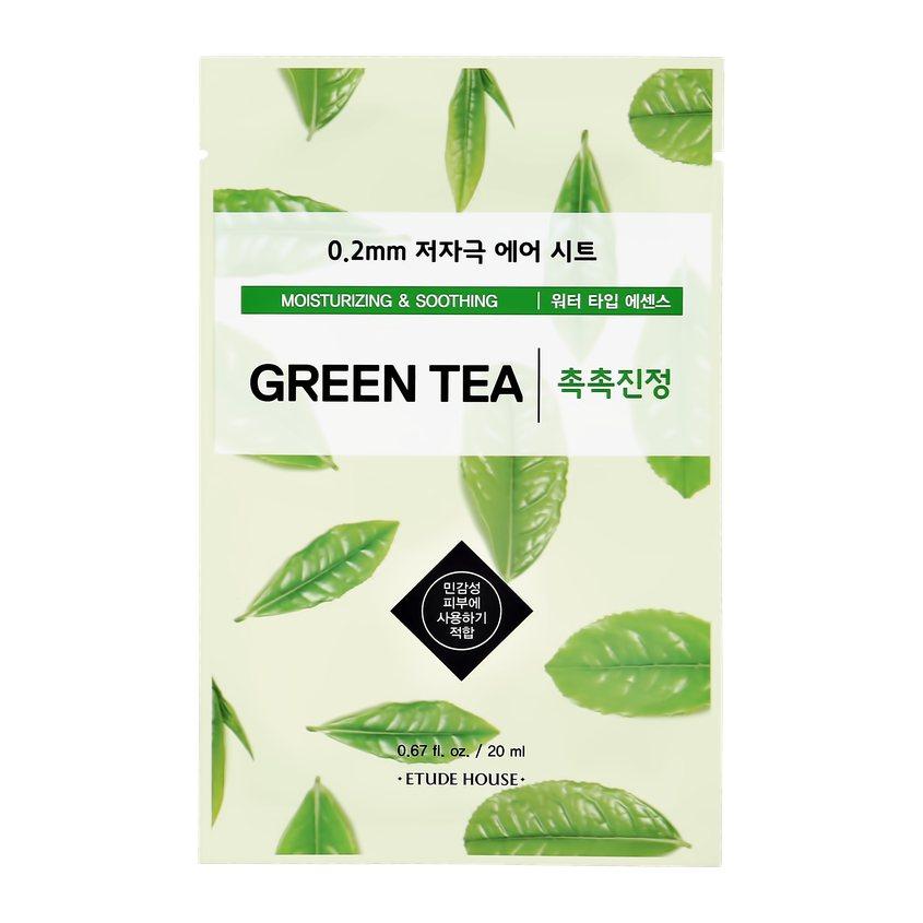 ETUDE HOUSE Маска для лица ETUDE HOUSE с экстрактом зеленого чая (увлажняющая и успокаивающая)