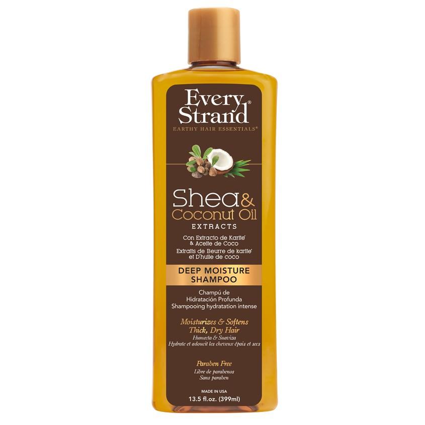 EVERY STRAND Шампунь для волос EVERY STRAND с кокосовым маслом и маслом ши