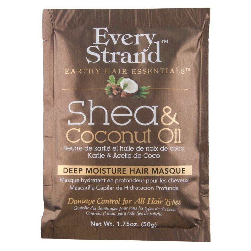 EVERY STRAND Маска для волос EVERY STRAND с кокосовым маслом и маслом ши