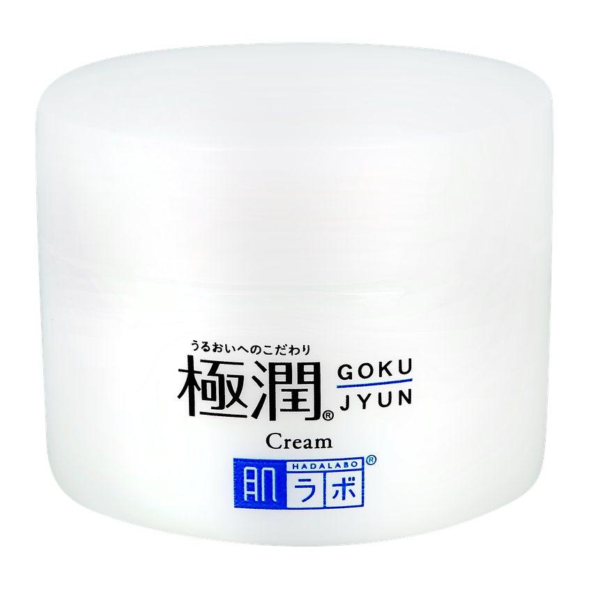 HADA LABO Крем для лица GOKUJYUN увлажняющий с гиалуроновой кислотой.