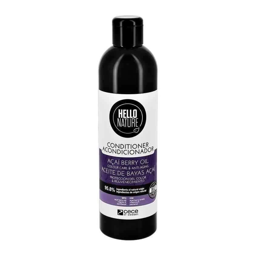Купить HELLO NATURE Кондиционер для волос ACAI BERRY OIL с маслом ягод асаи (для окрашенных волос)