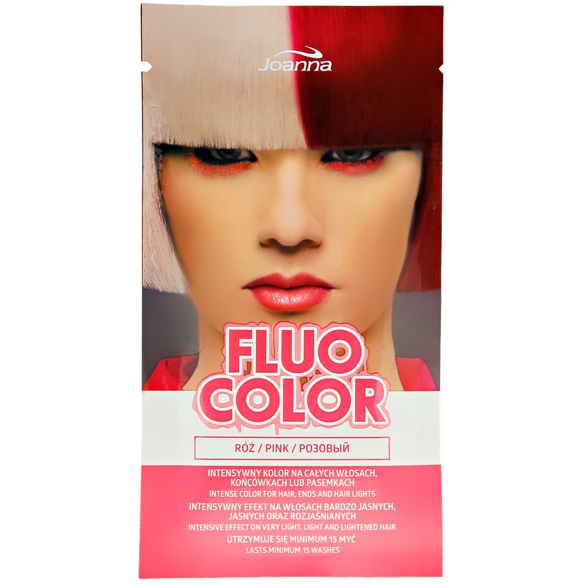 JOANNA Оттеночный шампунь для волос FLUO COLOR