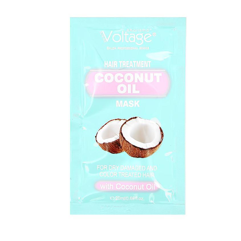 Купить KHARISMA VOLTAGE Маска для волос KHARISMA VOLTAGE с кокосовым маслом для сухих, поврежденных и окрашенных волос