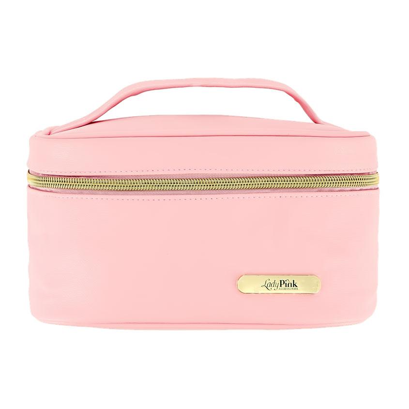 LADY PINK Косметичка-чемоданчик BASIC must have розовая